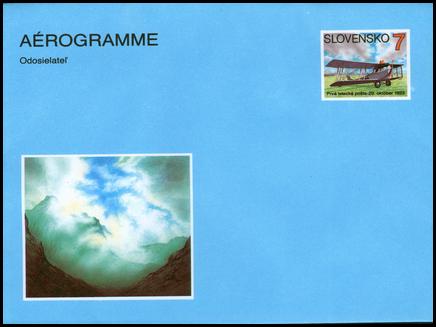 70. výročie leteckej pošty na Slovensku