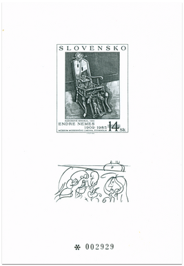 Umenie - Endre Nemes: Barokové kreslo