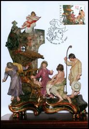 Vianoce - Rokokový betlehem