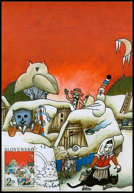 Vianoce 1996 - Na kysuckej dedine