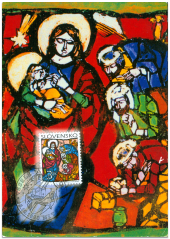 Christmas 1998 - Viera Hložníková: Adoration of the Magiciens