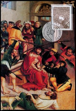 Krížová cesta - Veľkonočná známka