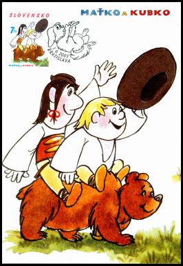 Maťko and Kubko  - Children Tale´s Characters