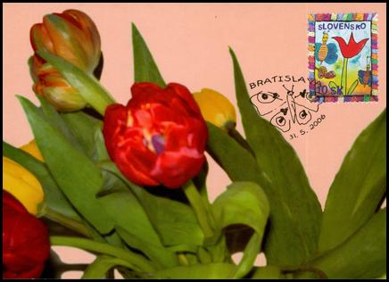 Stamp for Children - Spring