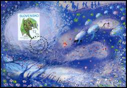 Children's Stamp - Pavol Dobšinský