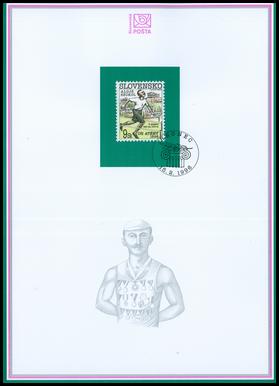 100 rokov olympijských hier - Alojz Szokol