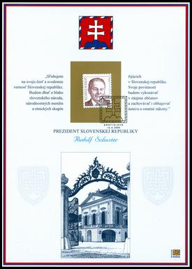 Prezident Slovenskej republiky Rudolf Schuster