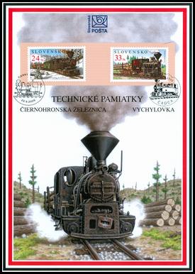 Technické pamiatky - Čierny Balog a Vychylovka