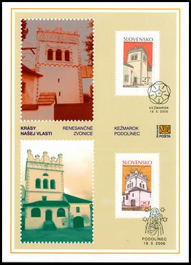 Krásy našej vlasti - Renesančné zvonice Kežmarok a Podolínec