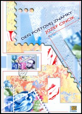 Deň poštovej známky – Jozef Cincík