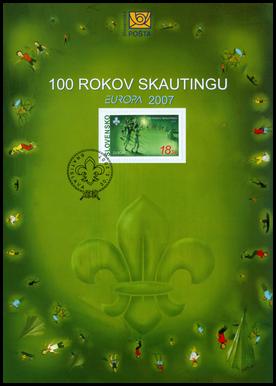EUROPA 2007 - 100 rokov skautingu