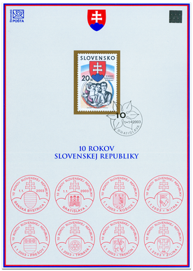 10th Anniversary of Slovak Republic