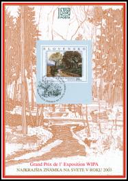 Najkrajšia známka na svete v roku 2003
