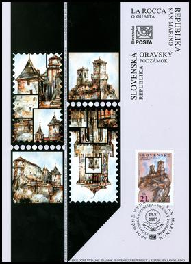 Spoločné vydanie so San Marínom - La Rocca o Guaita