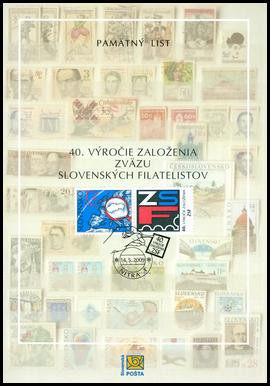 40. výročie založenia ZSF