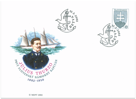 120. výročie narodenia 1. nám. kpt. Júliusa J. Thurzu,