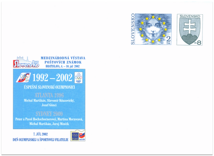 Slovensko 2002, Deň olympijskej a športovej filatelie