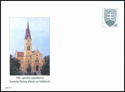 100. výročie vysvätenia kostola Panny Márie vo Vrábloch