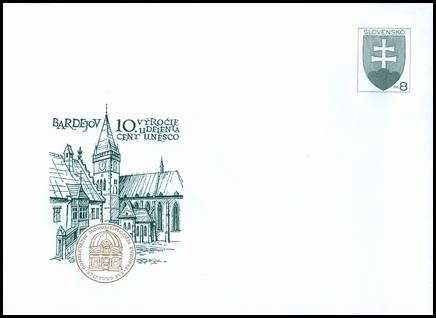 Bardejov - 10.výročie udelenia ceny UNESCO