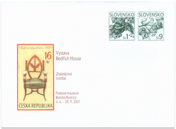 Exhibition of Bedřich Housa - Stamp Creation