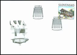 Historické mosty - drevený most v Kluknave