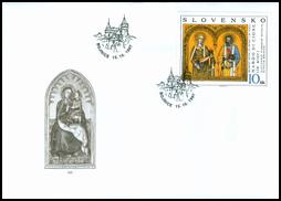 Umenie - Nardo di Cione: Bojnický oltár, detail, sv. Peter a sv. Lucia