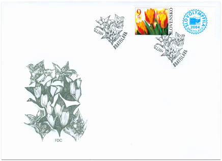 Flower with Personalised Coupon