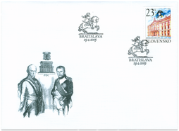 Peace of Bratislava   (Definitive stamp)