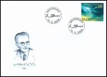 Svetový rok fyziky - Dionýz Ilkovič