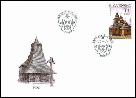 Krásy našej vlasti – Drevený kostolík Dobroslava