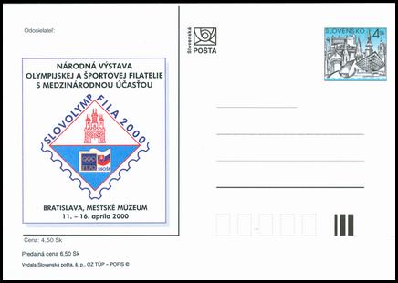 Slovolympfila 2000