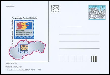 Slovenská pošta zdraví Berlín
