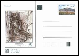 NITRAFILA 2003, akad. mal. Cigánik Rudolf, voľná tvorba a poštová grafika