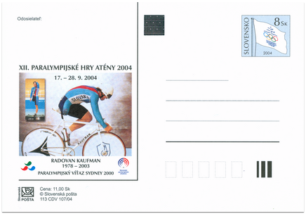 XIIth Paralympic Games Athen 2004