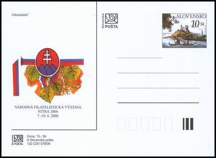 Národná filatelistická výstava Nitra 2006