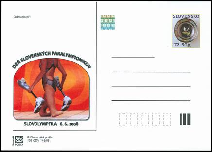 SLOVOLYMPFILA 2008 - Deň slovenských paralympionikov