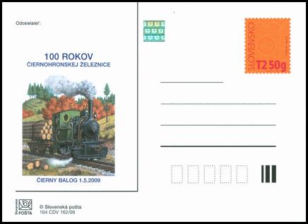 100 rokov Čiernohronskej  železnice