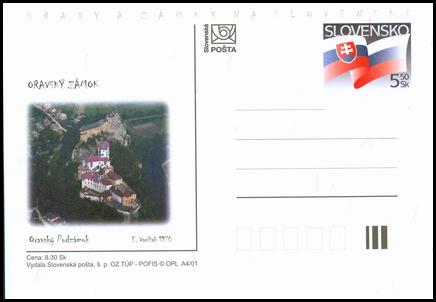 Hrady a zámky na Slovensku - Oravský zámok