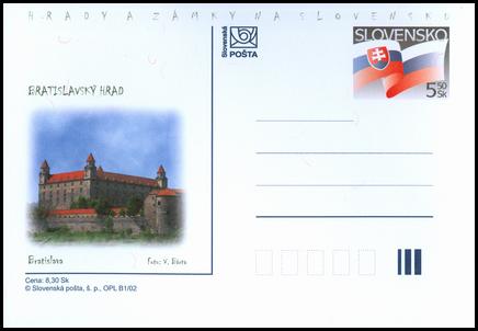 Hrady a zámky na Slovensku - Bratislavský hrad