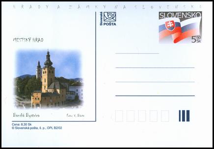 Hrady a zámky na Slovensku - Mestský hrad Banská Bystrica