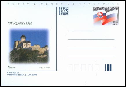Hrady a zámky na Slovensku - Trenčiansky hrad