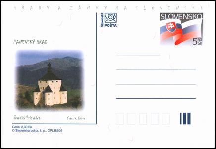 Hrady a zámky na Slovensku - Panenský hrad