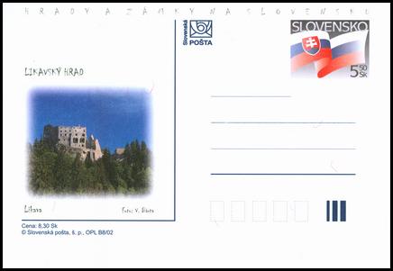 Hrady a zámky na Slovensku - Likavský hrad