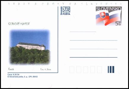 Hrady a zámky na Slovensku - Červený Kameň