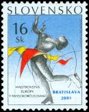 Majstrovstvá Európy v krasokorčulovaní Bratislava 2001