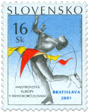 The European Championship in Figure Skating, Bratislava 2001