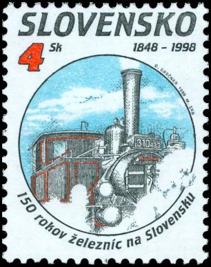 150 rokov železníc na Slovensku - parný rušeň