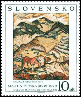 Martin Benka: Krajina z Terchovej