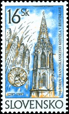700 rokov františkánskeho kostola v Bratislave