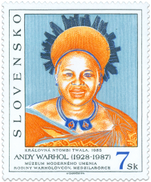 Art - Andy Warhol Queen NTOMBI TWALA